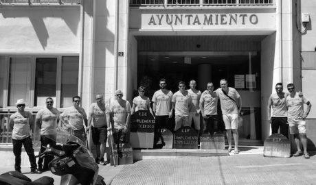 Monumental pitada de la Policía Local bajo el despacho de César Sánchez en Calp