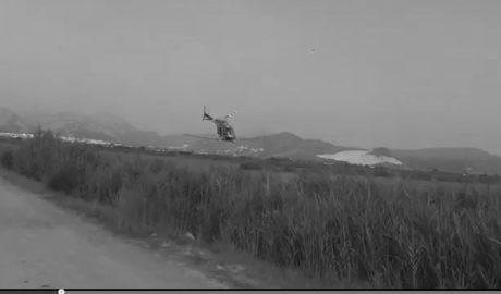 [VÍDEO] Marjal de Pego: Fumigando en helicóptero, salvando samarucs, luchando contra los invasores
