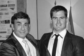 El regatista paralímpico Rafa Andarias recibe el premio del Rotary Club de Xàbia 2015-2016