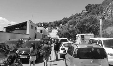 Colapso en el puerto de Xàbia