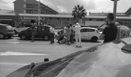 Herida grave tras ser atropellada en l'Arenal de Xàbia
