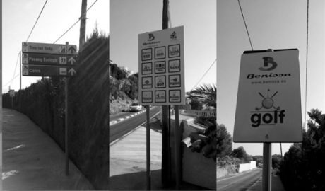 Imagen señalización Benissa costa 2016 BN