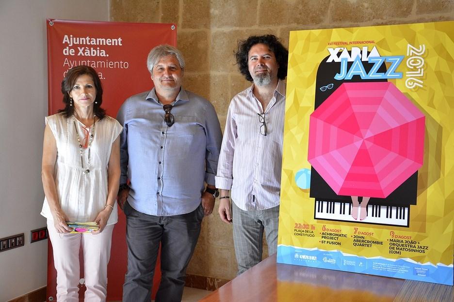 Presentación del festival Xàbia Jazz.