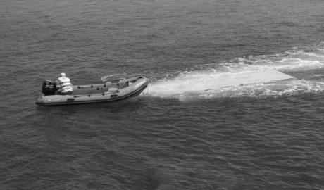 Rescatada una patera con 10 personas a bordo frente a Benitatxell