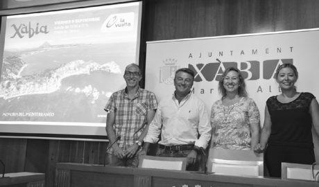 Xàbia se prepara para ofrecer su mejor cara a los 140 países que verán La Vuelta Ciclista