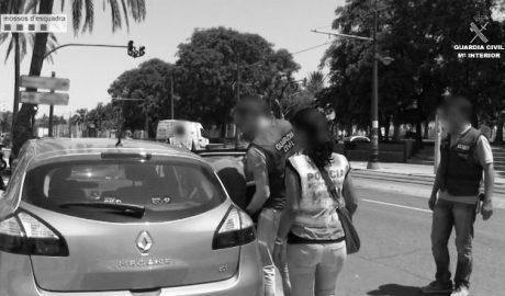 Un detenido en Xàbia como integrante de una red de pornografía infantil