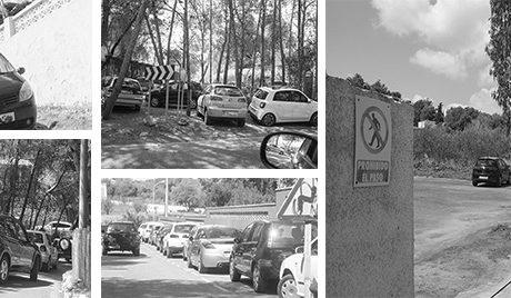 Oxígeno para la falta de aparcamiento de les Rotes de Dénia