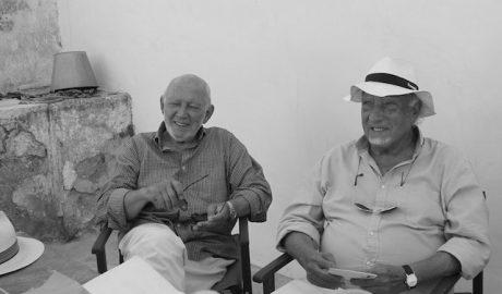 Manuel Vicent y Álvaro Luna en el Hort de l'Alé, «el paisaje que no vendió su alma»