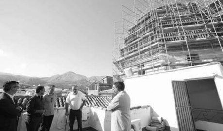 La Diputación de Alicante se hace cargo de restaurar la cúpula del Ecce-Homo de Pego