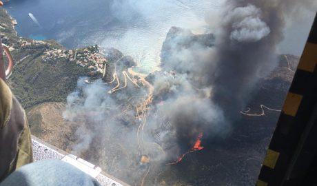 Imágenes del paisaje después de la tragedia de Xàbia y Benitatxell