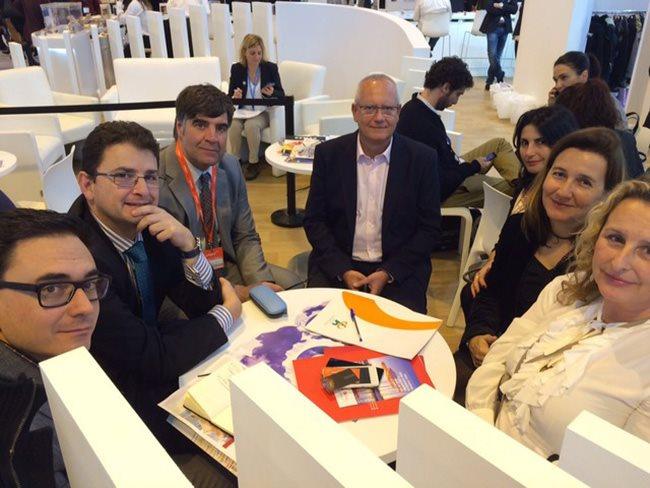 Representantes de Dénia y Burgos, en una reunión entre las dos únicas ciudades españolas de la red Unesco de gastronomía.