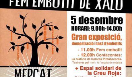 """Mercat de la Terra, """"Fem Embotit"""": productes de la terra, activitas familiars, tast de vins i concerts -Xaló-"""