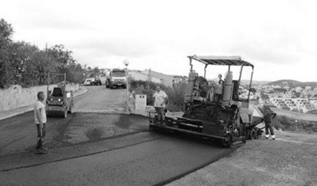 Benitatxell culmina el plan de asfaltado previsto para este año