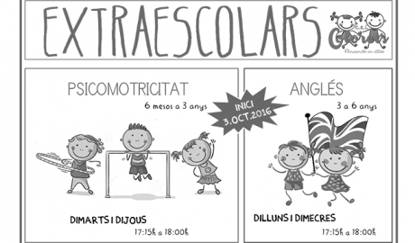 CEI Colorets obri la matrícula per a les classes extraescolars a xiquetss de fins a 6 anys