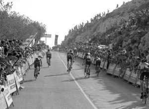 Enésimo paso de la Vuelta a España por la Marina Alta: esta vez con una etapa íntegra