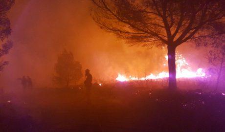 El infierno desde dentro (I): Los héroes del incendio de Xàbia y Benitatxell