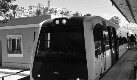 Las obras y el cierre entre Calp y Dénia provocan una caída del 3% de usuarios del TRAM en julio