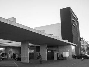 Accés d'Urgències a l'hospital de Dénia
