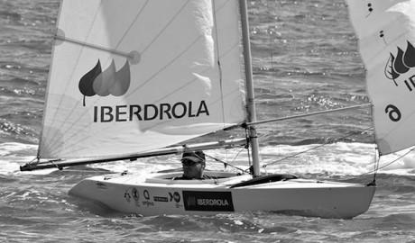 Rafa Andarias consigue la plata en el Circuito Iberdrola de Vela Paralímpica
