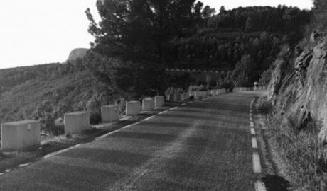 El asfaltado de la carretera Xaló-Benissa por Bèrnia obligará a cerrarla un mes
