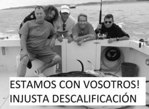 El Clave de Luna descalificado del Campeonato Mundial de Pesca de altura