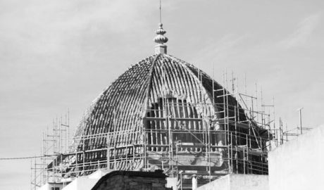 La Cofradía del Ecce-Homo de Pego organiza un festival para pagar la restauración de la cúpula de la capilla