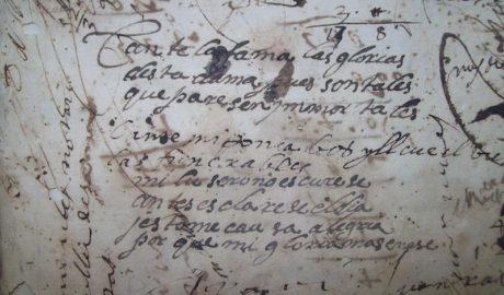 El burócrata anónimo del siglo XVII que escribía versos en el libro de justicia de Pego