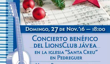 Concierto benéfico de Vicent Ballester, guitarra, y Josep Vicent Giner, órgano -Pedreguer-