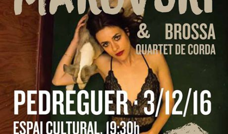 Concierto de Maika Makovski & Brossa Quartet de Corda -Pedreguer-