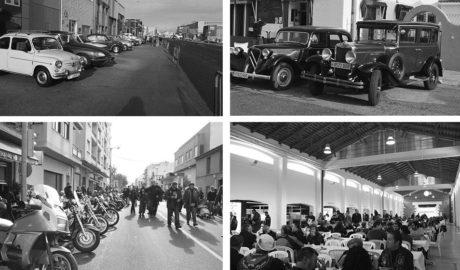 Motos y coches antiguos vencen a las adversas previsones meteorológicas en el cierre de la Fira d'Ondara