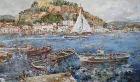 Veinte cuadros que han retratado el puerto de Dénia durante cuatro siglos