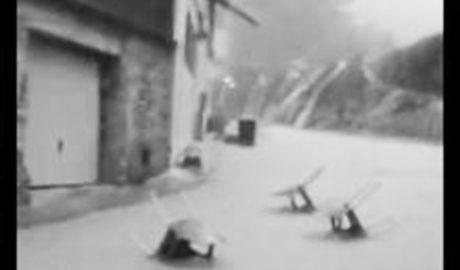 [VÍDEO] Ríos de agua en las calles de la Vall de Gallinera