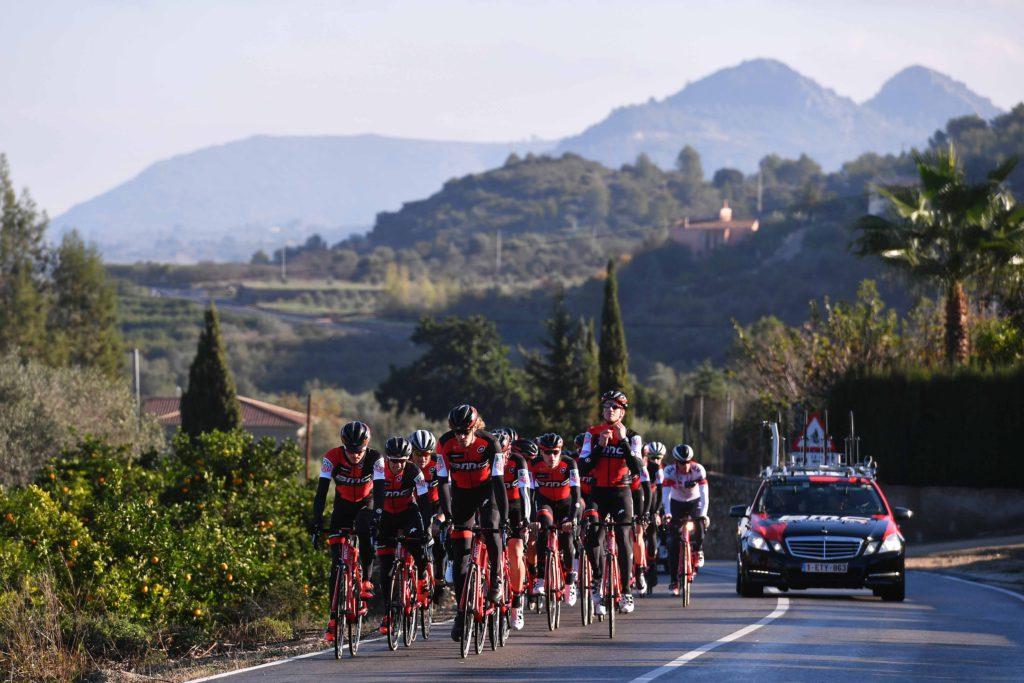 Cycling: Team BMC Racing Team 2017 Landscape / Peloton / Team BMC (Usa)/ ©Tim De Waele