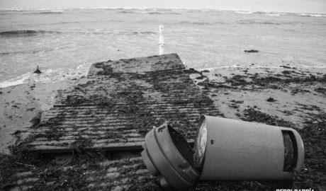 Dénia reclama una actuación urgente de Costas para reparar los daños en playas y reponer la arena perdida con el temporal