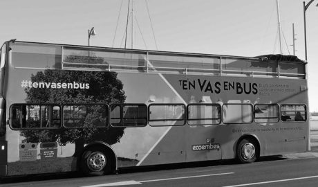 Una campaña para fomentar el reciclaje dota a Dénia de bus urbano gratuito hasta fin de año