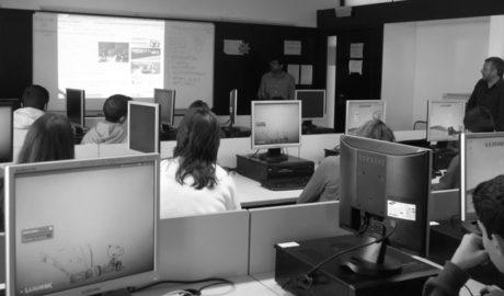 El taller de periodisme de La Marina Plaça torna a l'Institut Xebic d'Ondara