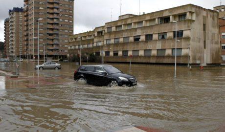 La ciutat de valència s'inunda