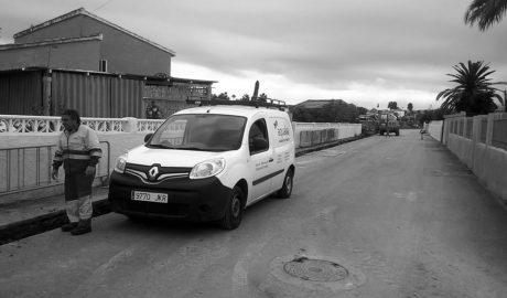 Mejora del abastecimiento en la partida Sorts de la Mar, en Els Poblets