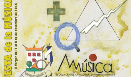 Com tots els anys, el Verger celebra la Festa de la Música del 2 al 8 de desembre