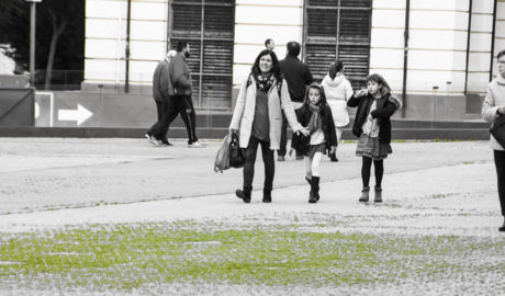 [GALERÍA] Y tras las lluvias... una verde moqueta en la calle La Via de Dénia