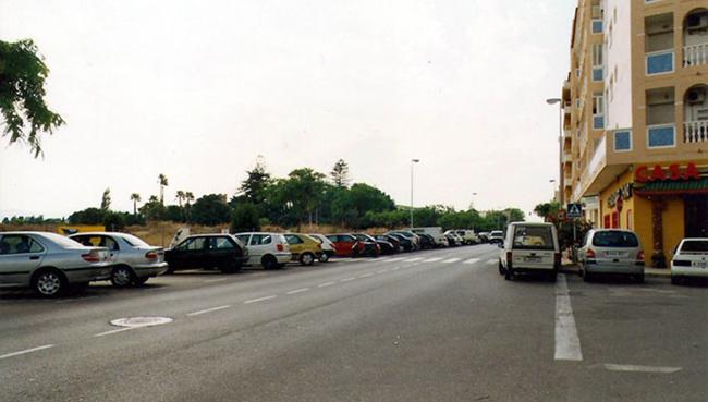 La avenida de Ramón Ortega, en una imagen del año 2002. FOTO: Blog 'Dénia, el rincón del Gatho'
