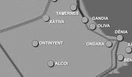 Ayuntamientos, Consell y empresarios de la Marina Alta y la Safor se conjuran por el Tren de la Costa