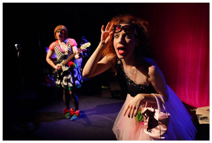 """El cabaret de """"Two ladies or Not Two ladies"""""""