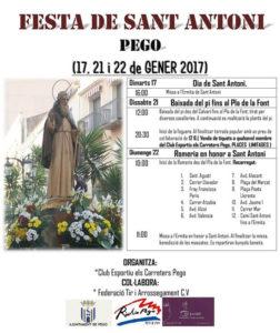 Festa de Sant Antoni -Pego-