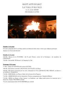 Festa de Sant Antoni -Alcalà de la Jovada-