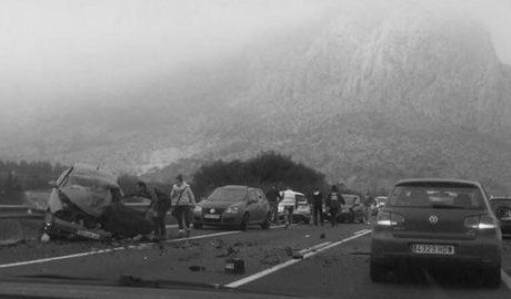 La nacional que cruza la Marina Alta sufre «cuatro accidentes graves al año» mientras sigue sin haber tren