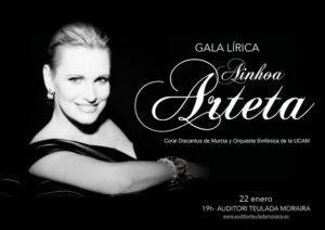 Gala Lírica de Ainhoa Arteta, Coral Dicantus de Múrcia y Orquestra UCAM -Teulada- @ Auditori Teulada Moraira