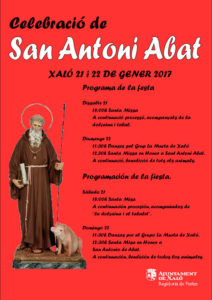 Festes de Sant Antoni Abat -Xaló-