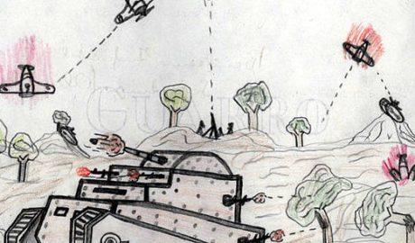 Los dibujos desgarrados de los niños de la Guerra Civil llegan a Xàbia
