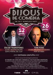 """""""Dijous de Comèdia"""": Espectáculo de mentalismo """"Tu otro yo"""" por Toni Pons -Xàbia- @ Biblioteca Duanes"""